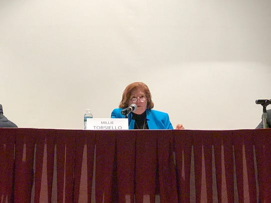 "Pompton Lakes Council challenger Carmela ""Millie"" Torsiello"