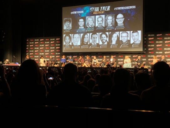 """The """"Star Trek: Discovery"""" panel at Madison Square"""