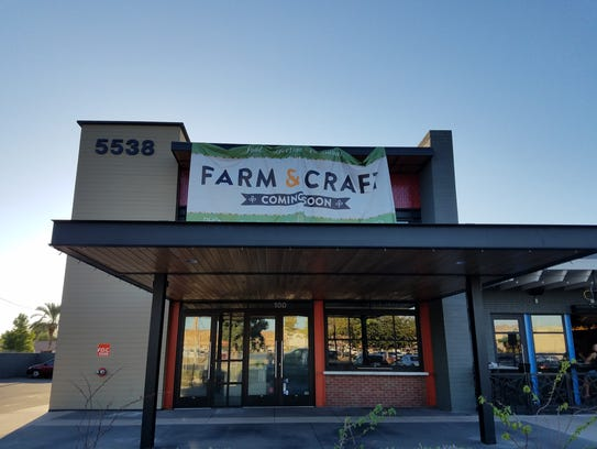 Farm & Craft took over The Herb Box space at The Colony in Phoenix.