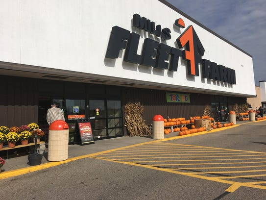 Mills Fleet Farm in Stevens Point will kick off the