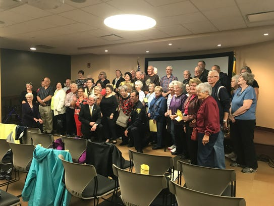 About 40 local residents, graduated the MCSO Senior Citizen Police Academy on Oct. 12, 2017.