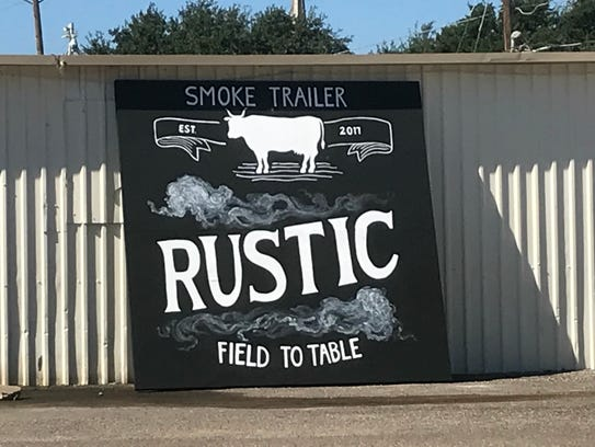 Rustic Field to Table BBQ in San Angelo.