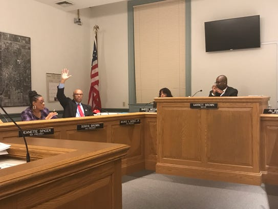 Albion City Council will narrow down the bids from search firms to find a new city manager next week. The city received seven bids.