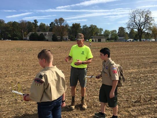 Nearly 200 Boy Scouts, representing nearly 20 troops