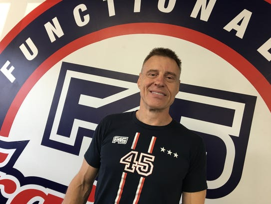Bill Campbell, owner of Staunton's new cross training