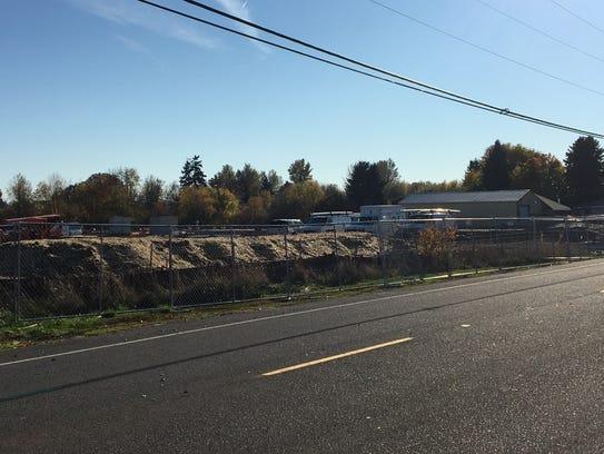 Construction at 5164 Caplinger Road SE in Salem, Oregon,