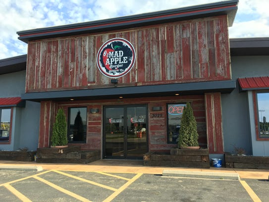 The Mad Apple Burger & Billiards Co. in Grand Chute.