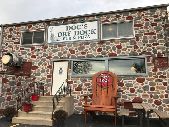 Doc's Dry Dock in Pewaukee has been serving up some of the favorite local pizza for more than 30 years.