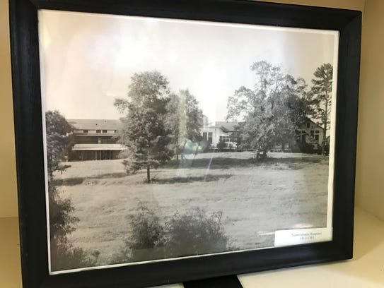 A building on Central State grounds identified as being