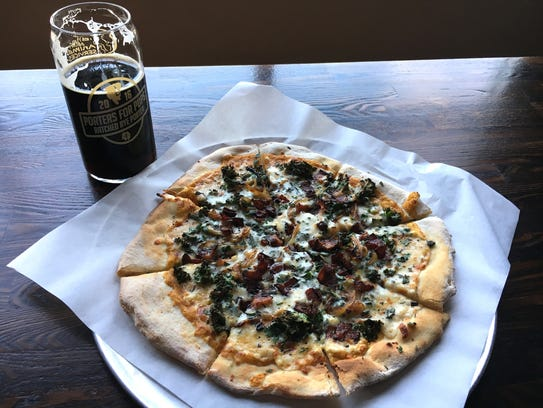 Pizzas and craft beers pair up at Institution Ale Co.