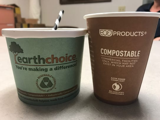 The Brevard Zoo will use compostable products to serve