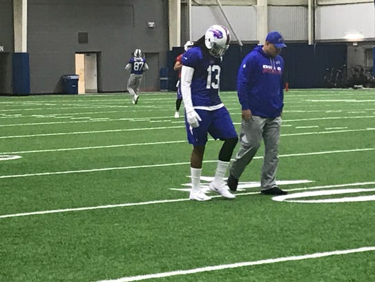Kelvin Benjamin getting some extra work with the Bills