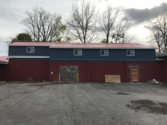 This is the future home of Stoneyard Brewing's production