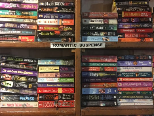 Romantic suspense is Wynne Beck's favorite section