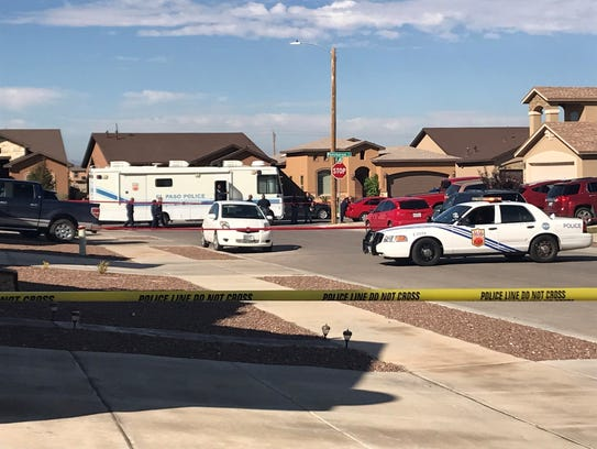 Police investigate a deadly double shooting Thursday