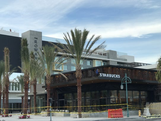 The new Starbucks Reserve, at Palm Canyon Drive and