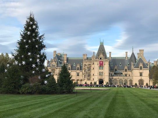Biltmore Estate, now celebrating Christmas at Biltmore,
