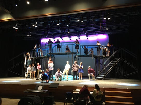 Parkview High School theater students are presenting