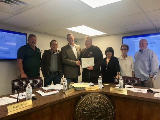 Tuesday marked Gary Norwood's last meeting serving
