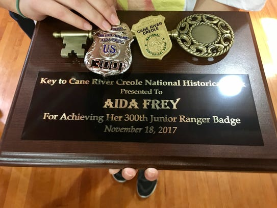 Aida Frey, a 16-year-old from a Chicago suburb, visited