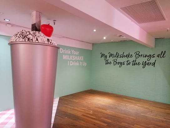 """The Shake It Up Room at """"The Art of Ice Cream Experience"""""""