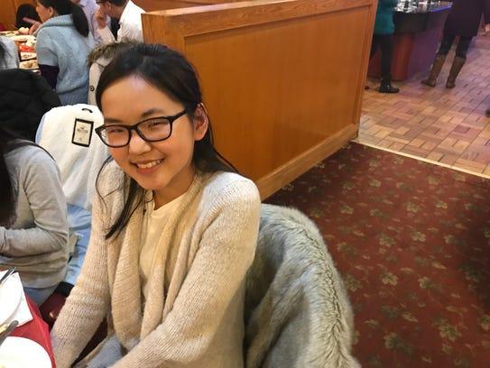 Irene Feng, 15, of Henrietta