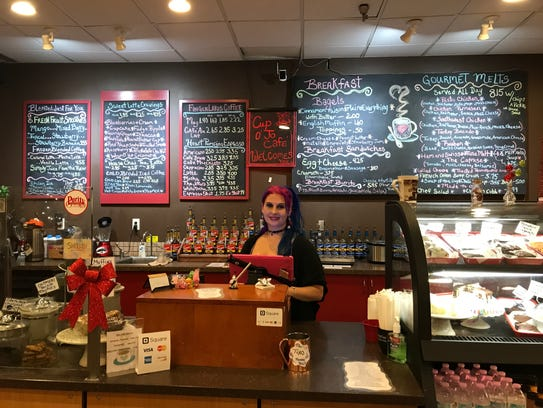 Naomi Bernheim owns Cup o' Joe Cafe in The Shops at