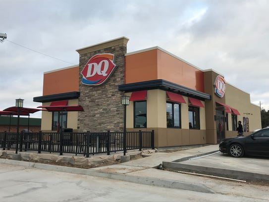 San Angelo's second Dairy Queen, at 3006 Knickerbocker Road, opened for Black Friday.