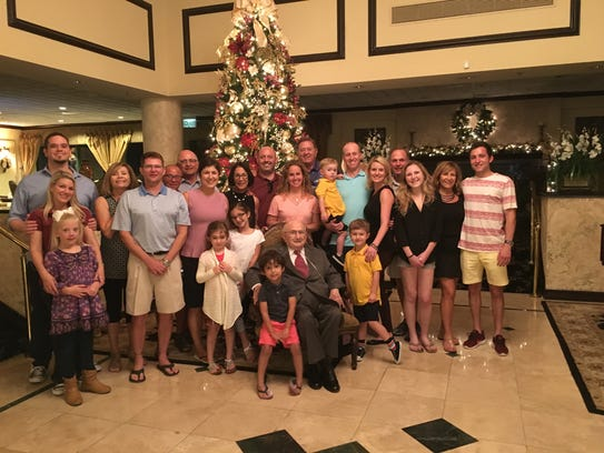 Mike Procacci celebrates his 94th birthday with family
