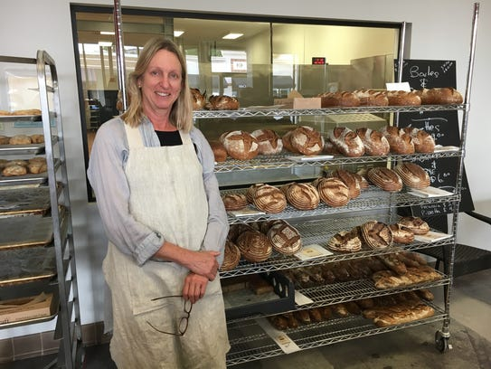 Andrea Crawford is the owner of the Roan Mills bakery