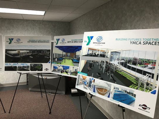 Renderings for the new South Wood County YMCA and Boys