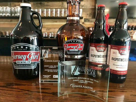 Jersey Girl Brewing was named Emerging Business of