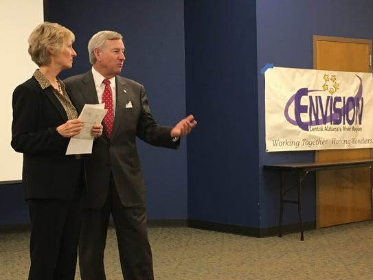Montgomery Mayor Todd Strange and Alabama Commissioner