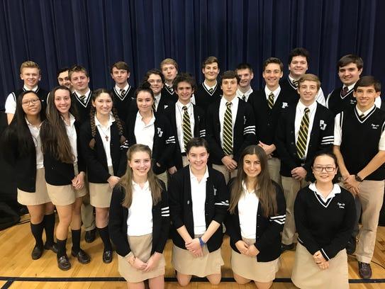 Pope John XXIII Regional High School recognized 28