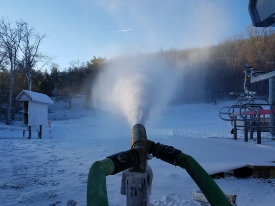 Sugar Mountain Ski Resort opened for the season Nov.