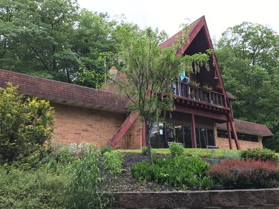 The Westbrook Park lodge in West Milford, as seen on