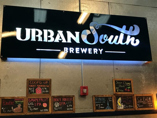 Urban South Brewery's selection is a welcome alternative