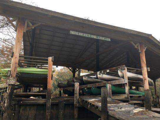 Canoe rentals are available at Lake Fausse Pointe State