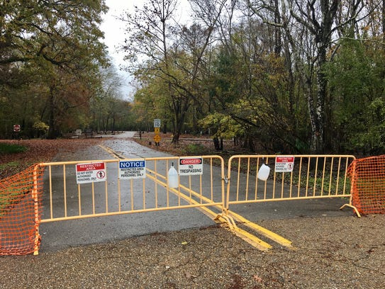Trails at Lake Fausse Pointe State Park remain closed