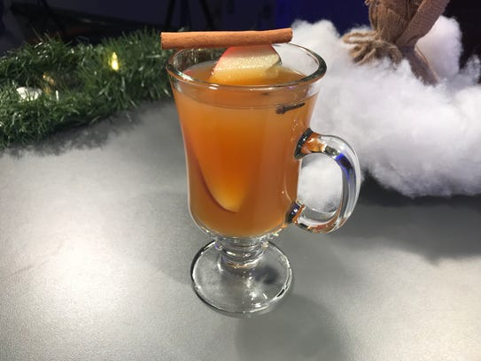 Hot mulled Riesling was created at Point of the Bluff