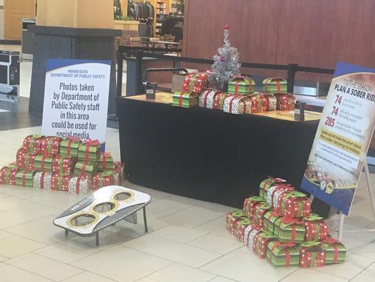 The Minnesota State Patrol held an awareness-raising