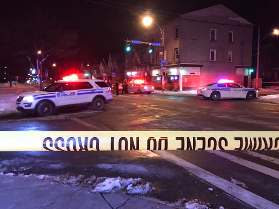 Rochester police on scene of a fatal shooting at Genesee