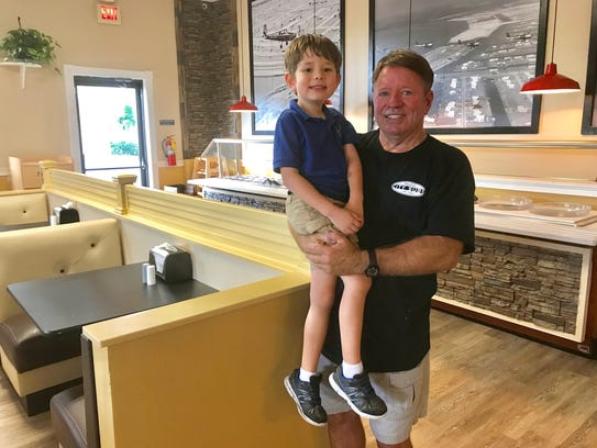 Mark Hendry, owner of City Subs in Cape Coral, with