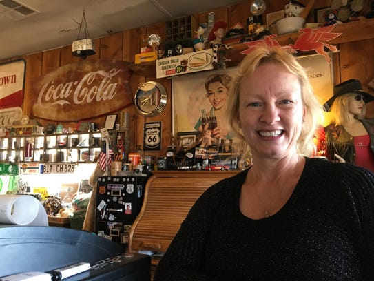 Owner Amy Franklin has left Hackberry General Store