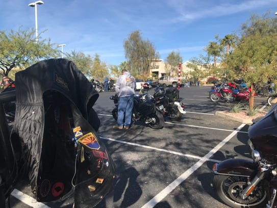 A benefit ride and raffle was held to support MCSO