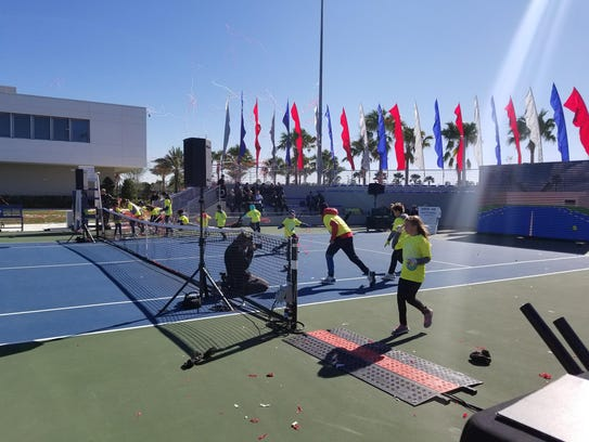 USTA National Campus in Orlando celebrated its one
