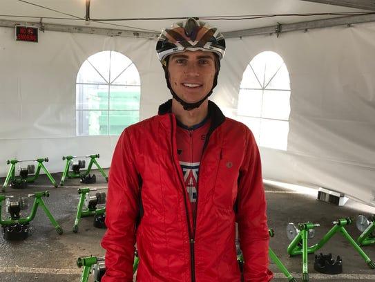 David Greif at the National Cyclocross Championships