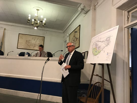 Township Planner Richard Preiss worked with the township on its affordable housing plan.