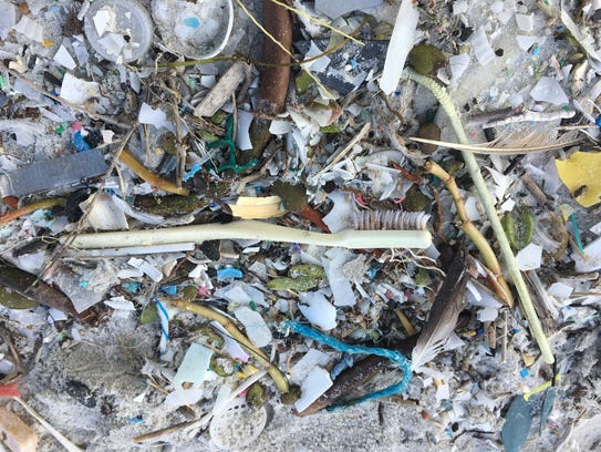 Recent hurricanes may have brought the plastic onslaught