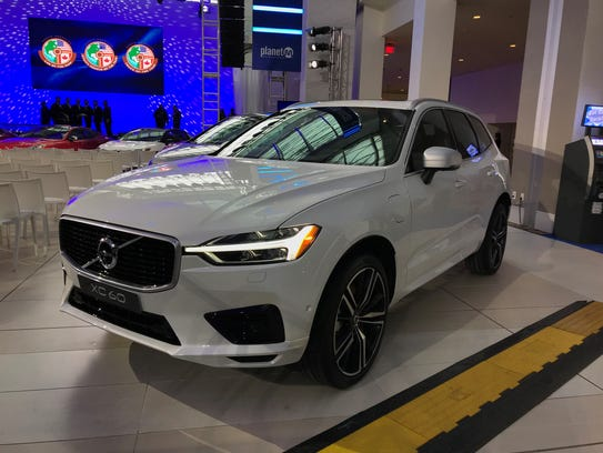 The Volvo XC60 was named the North American International